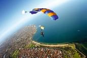 Skydive down the sky of Rio De Janerio