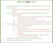 Success and Hurdles