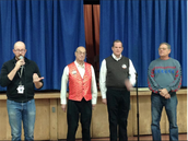 Special Assembly by Mr. Cromer's Barber Shop Quartet