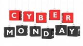 Cyber Monday 30th Nov