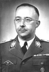 Heinrich Himmler was one of the most powerful men in Germany