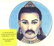 King Śuddhodana