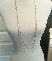 Libby Layering Necklace/Silver