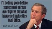Quote form Bush