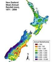 Rainfall of NZ