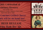 July 4th Celebration - CheeZilla Gourmet Grilled Cheese Food Truck & A Beer Release