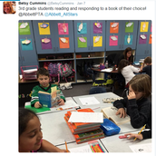 """Excellent way of differentiating! Students read and respond to texts that are """"just right"""" for their individual learning!"""
