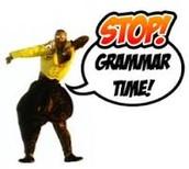 Grammar Corner!