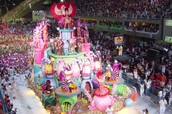 The float in rio