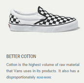 They use the best cotton.