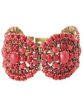 Sardinia Statement Bracelet - Red