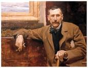 O novelista, Pérez Galdós