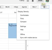 Change your Calendar's Default Settings
