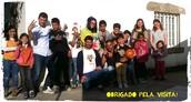 Visita de Educadora Social do Brasil