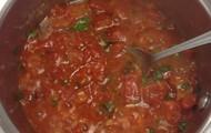 Tomato Sauce when done