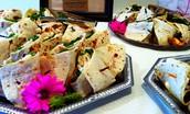 Gourmet Wraps Platters!