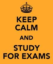 Exam Schedule Announced