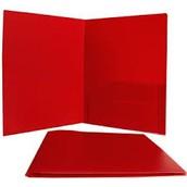 RED Folders & Popcorn Word Folders