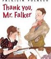 Tank you, Mr. Falker