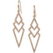 Pave Spear Earrings