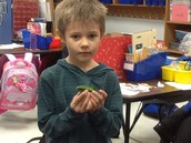 Alexander and his turtle!