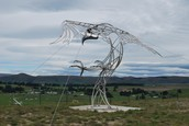 Haast's Eagle Sculpture