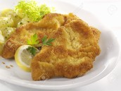 Fried Veal Escalope (9₯)