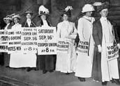 Suffragette Protest
