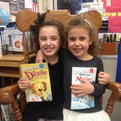 Thanks to Lila for being a Mystery Reader!