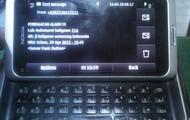 Report SMS ke petugas lapangan