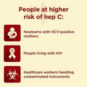 More risk factors for hep c