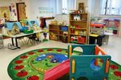 Tenemos muchas estaciones de aprendizaje para que sus hijos no se aburren !