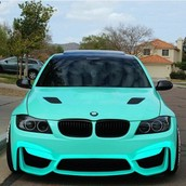 Tiffany Blue BMW M3