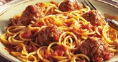 Spaghetti with meatballs- Monday night special