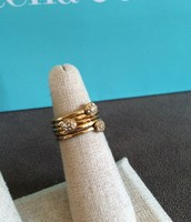 Paloma Stacked Rings Size 6 $15
