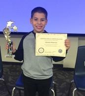 Congratulations Gerardo D.