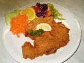 smazeny kureci rizek (fried chicken)