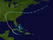 Hurricane Camilles Path