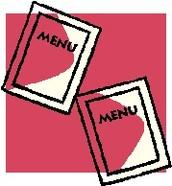Canteen Menus