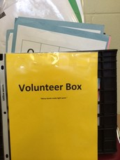 Introducing the Volunteer Box and Supply Wish List