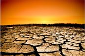 Do droughts  help global warming?