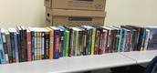 PISD Education Foundation Grant (written by Karyn Collins) Provides New Titles For 6th Grade ELA Classroom Libraries