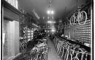 Bicycle Shop possibly in Detroit, Michigan