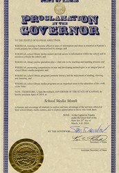 Proclamation for School Media Month