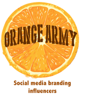Orange Army™. Social media branding influencers. PR & marketing communications
