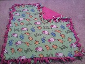 No-Sew Knot Blankets