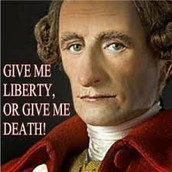 Famous speech by Patrick Henry