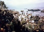 U.S. forces in Leyte