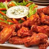 alas de pollo (spicy)