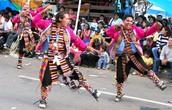 Dancers at Cochabamba